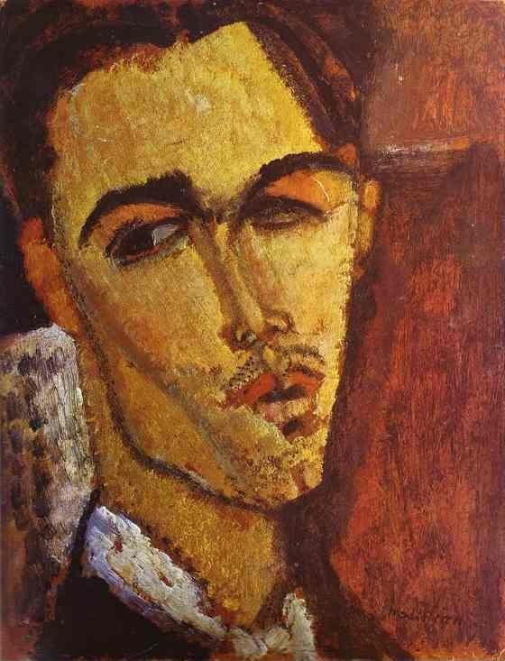 Amedeo Modigliani. Portrait of the Spanish  Painter Celso Lagar.