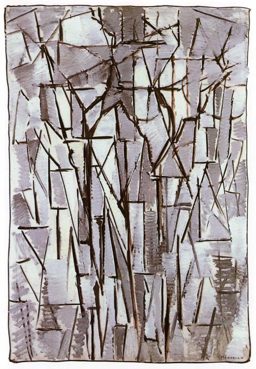 Piet mondrian composition trees ii compositie bomen ii