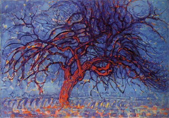 Piet Mondrian. The Red Tree.