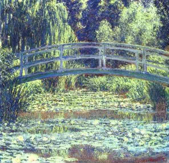 Claude Monet. The Japanese Bridge.