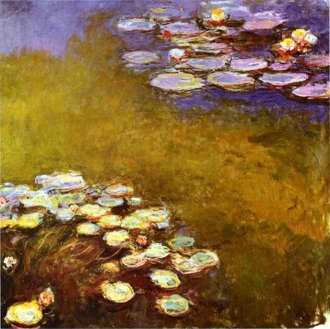 Claude Monet. Water-Lilies.