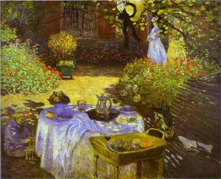 Claude Monet. The Luncheon.