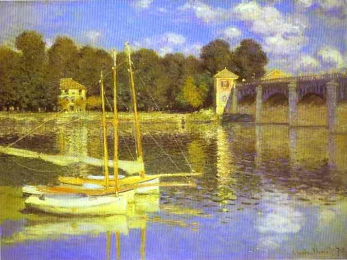 Claude Monet. The Bridge at Argenteuil.