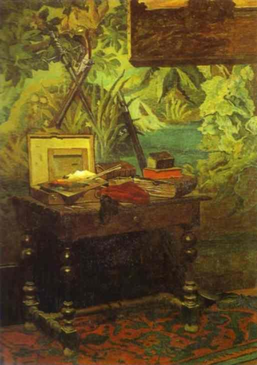 Claude Monet. Studio Corner.