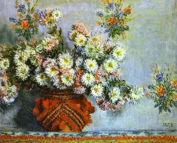 Claude Monet. Chrysanthemums.