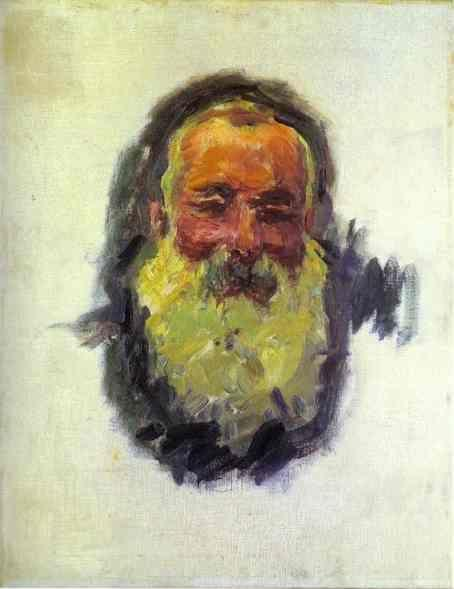 Claude Monet. Self-Portrait.