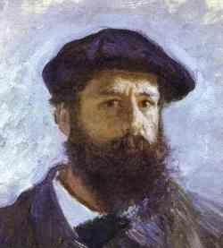 Claude Monet Portrait
