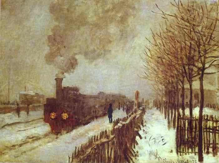 Claude Monet. The Train in the Snow.