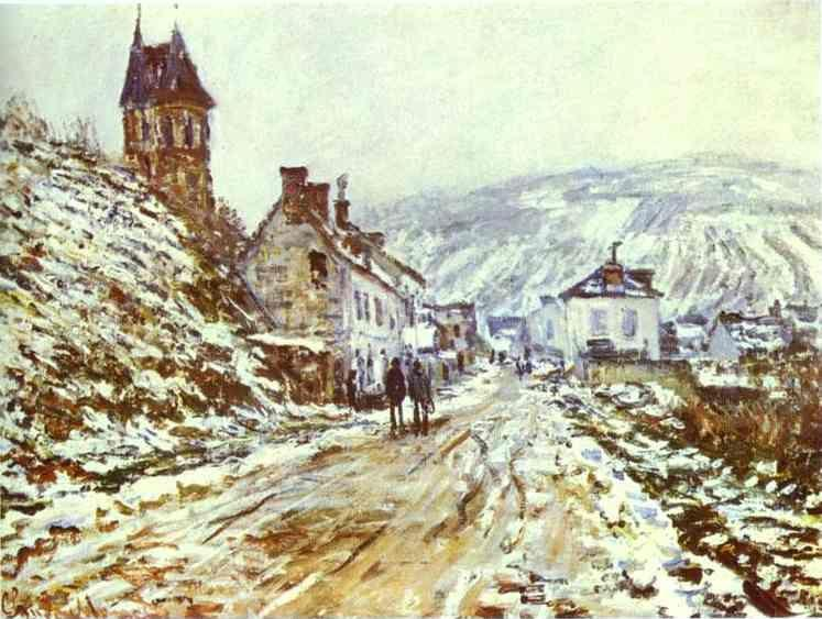 Claude Monet. The Road to Vétheuil.