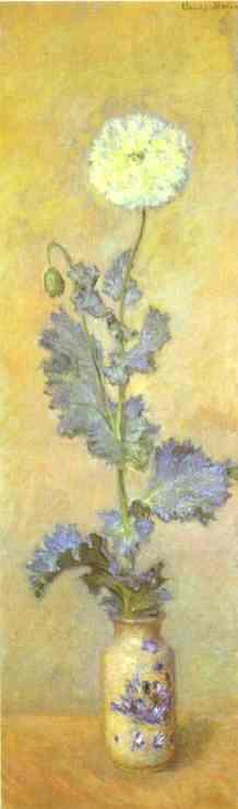 Claude Monet. White Poppy.