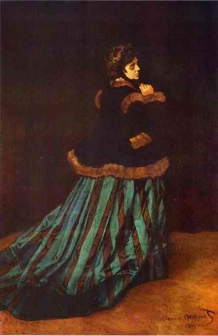 Claude Monet. Camille Doncieux (Lady in Green).