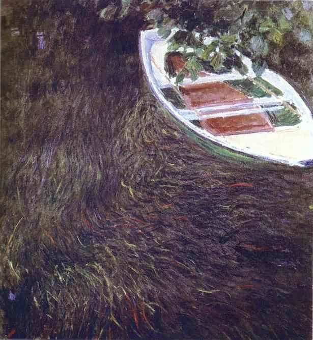 Claude Monet. The Boat.