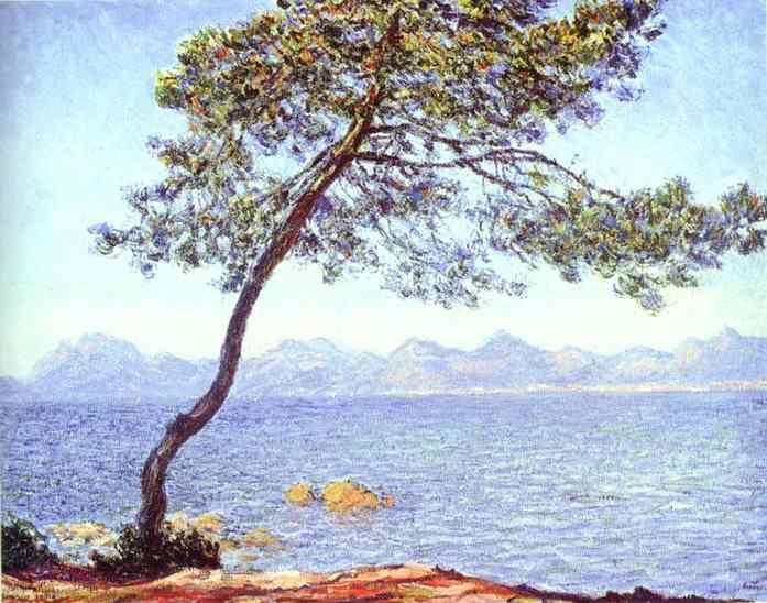 Claude Monet. Mountains at l'Esterel.