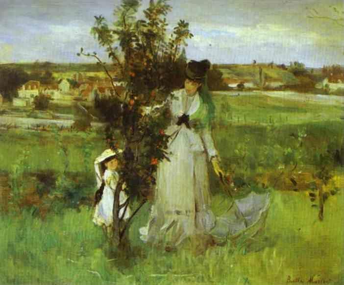 Berthe Morisot.  Hide and Seek.