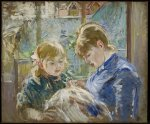 Berthe Morisot. The Artist's Daughter Julie and her Nanny.