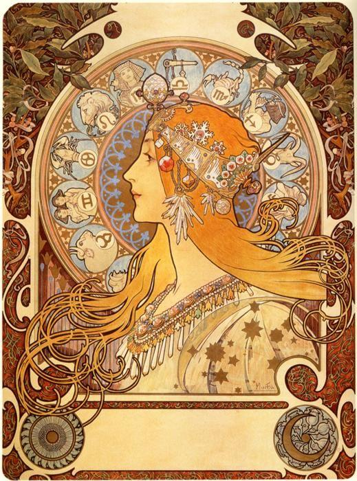 Inspiration: Alphonse Mucha. Posted by Jaden Kale @ 12:00 PM 0 Ponderings
