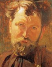 Alphonse Mucha Portrait