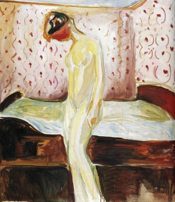 Edvard Munch. Weeping Girl.