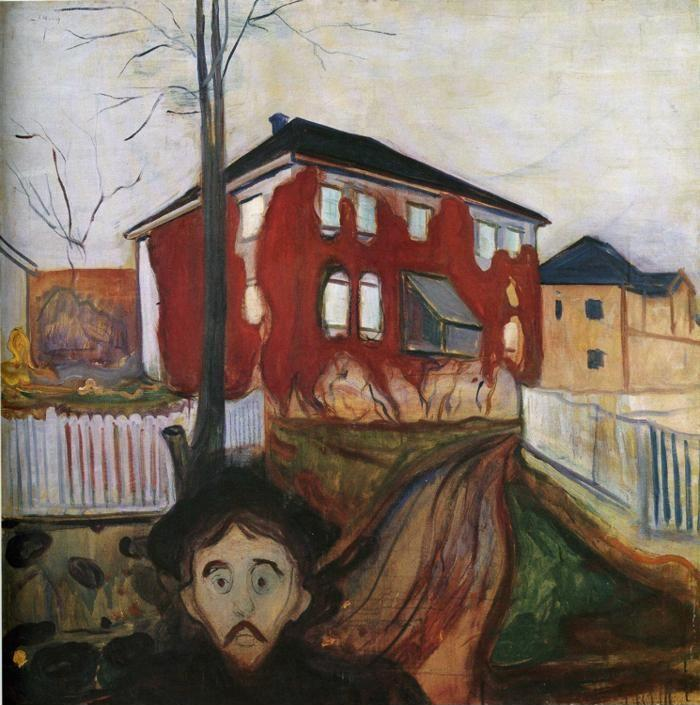 Edvard Munch. Red Virginia Creeper.