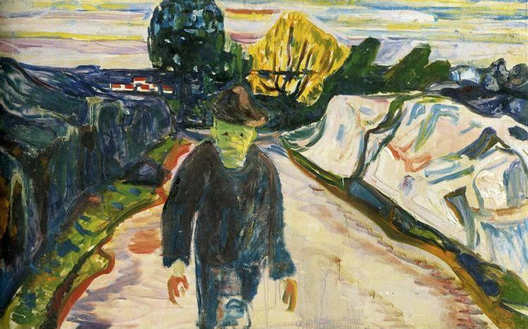 Edvard Munch. The Murderer.
