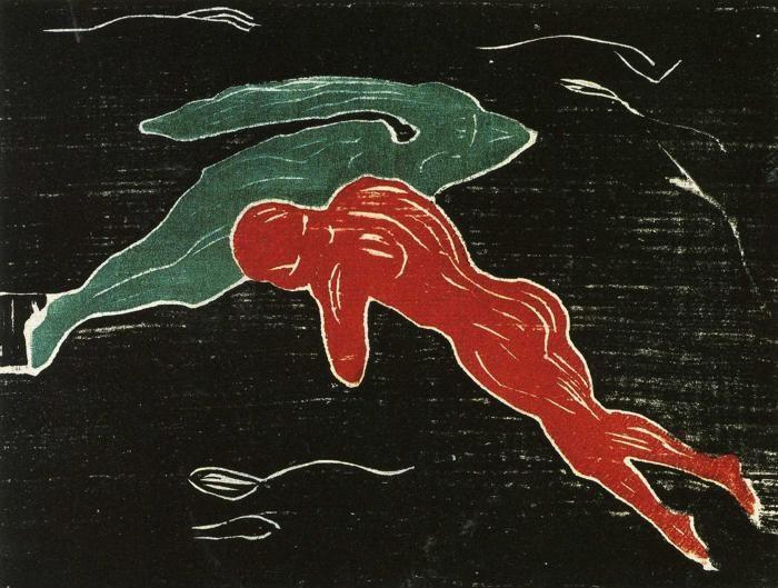 Edvard Munch. Meeting in Outer Space.