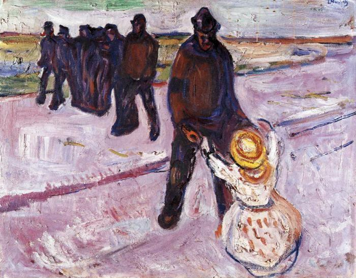 Edvard Munch. Worker and Child.