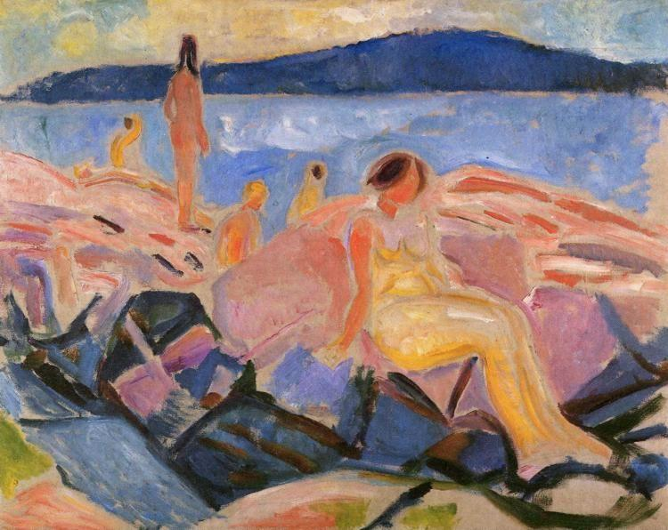 Edvard Munch. High Summer II.