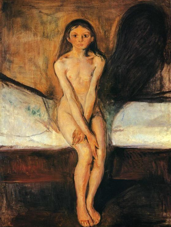 Edvard Munch. Puberty.