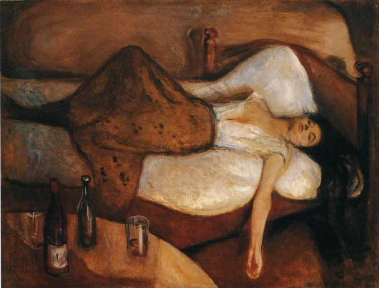 Edvard Munch. The Day After.