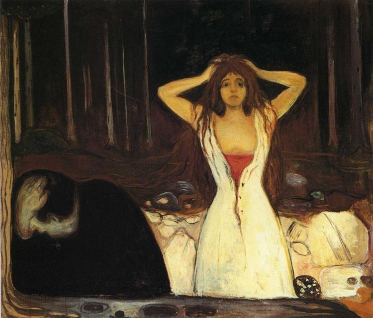 Edvard Munch. Ashes.