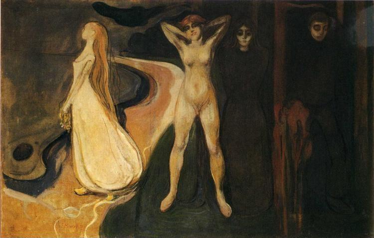 Edvard Munch. The Three Stages of Woman (Sphinx).