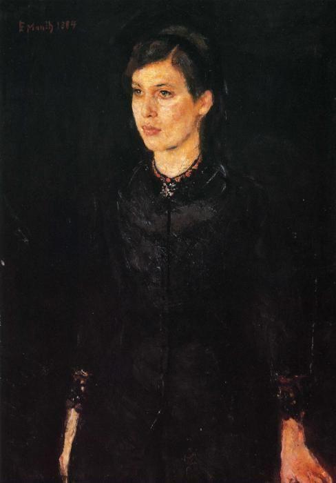 Edvard Munch. Sister Inger.