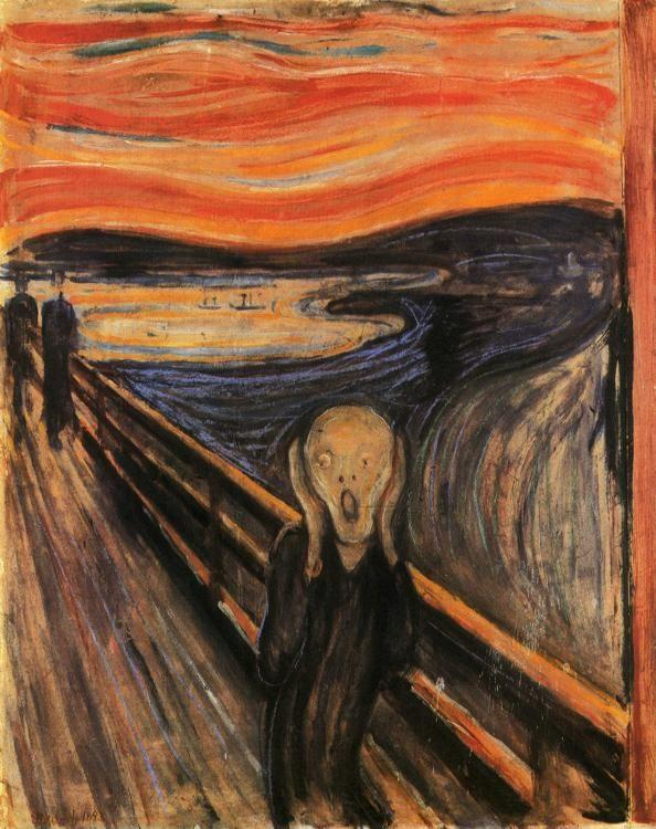 Edvard Munch. The Scream.