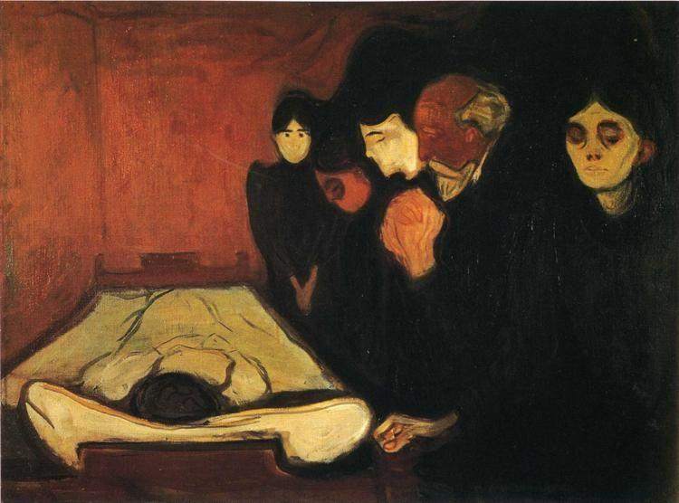 Edvard Munch. The Death Bed.