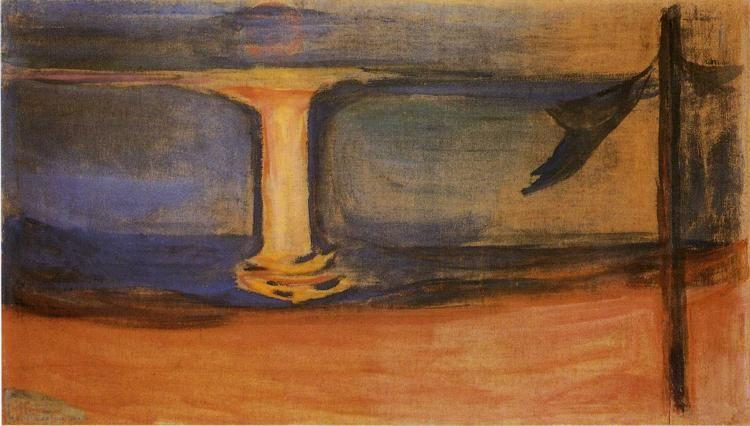 Edvard Munch. Asgardstrand (from the Reinhardt  Frieze).