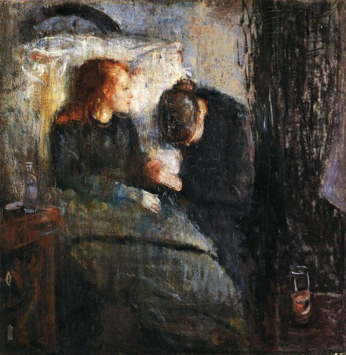 Edvard Munch. The Sick Child.