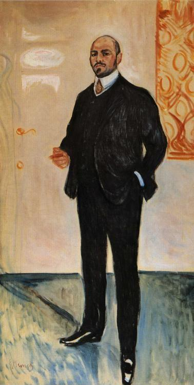 Edvard Munch. Walter Rathenau.