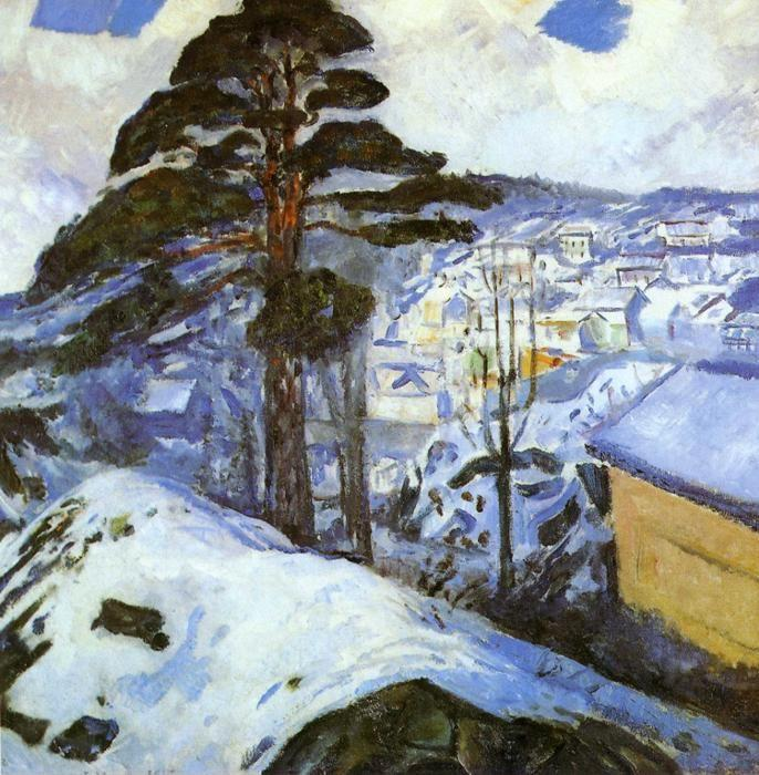 Edvard Munch. Winter, Kragero.