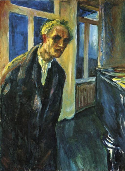 Edvard Munch. Self-Portrait. The Night Wanderer.