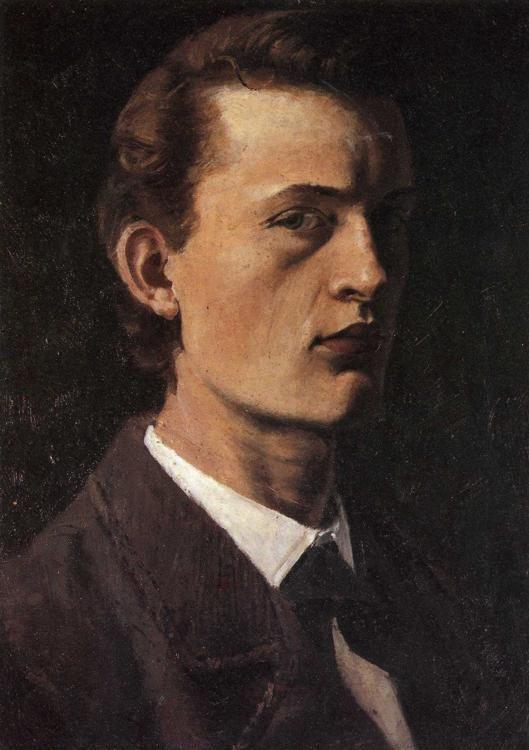 Edvard Munch Self Portrait
