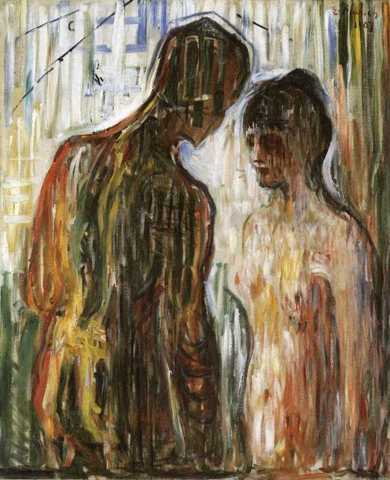 Edvard Munch. Cupid and Psyche.
