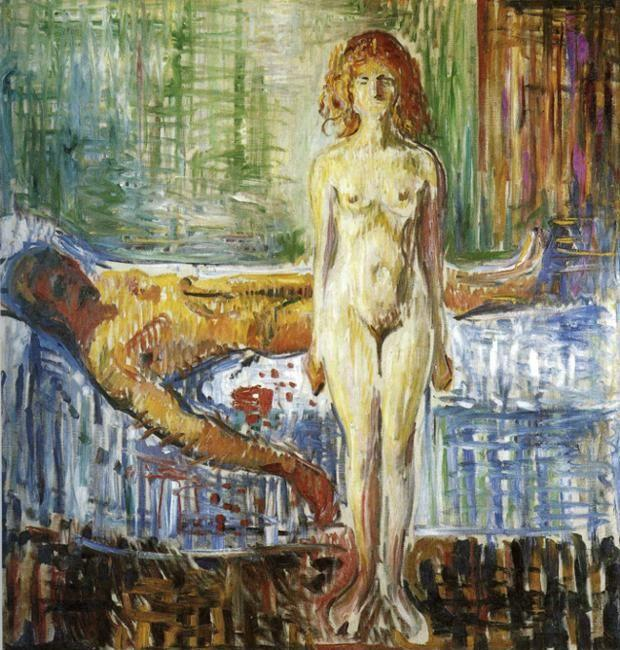 Edvard Munch. Death of Marat II.