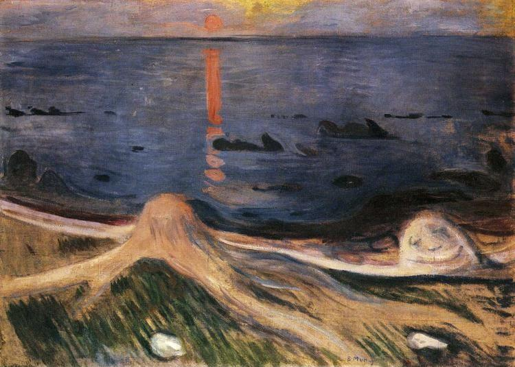 Edvard Munch. The Mystery of a Summer Night.