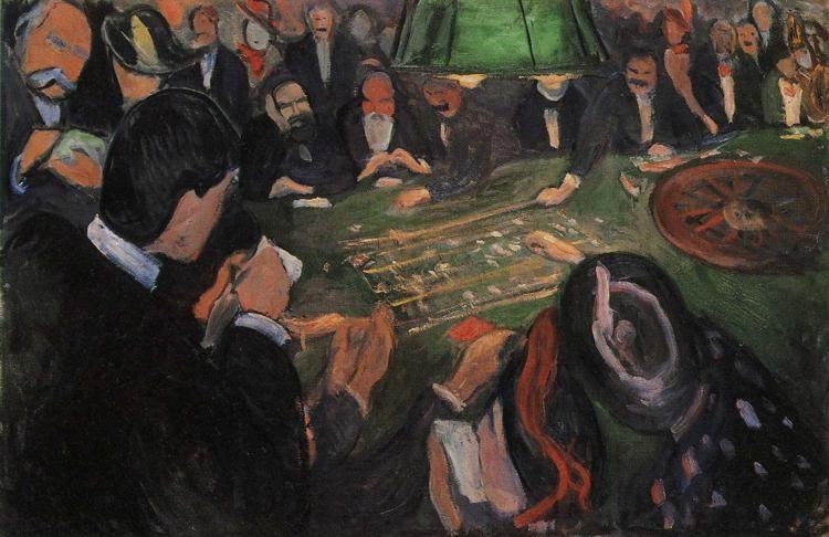Edvard Munch. By the Roulette.