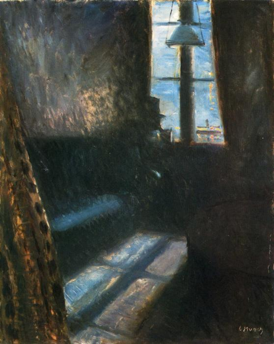 Edvard Munch. Night in St. Cloud.
