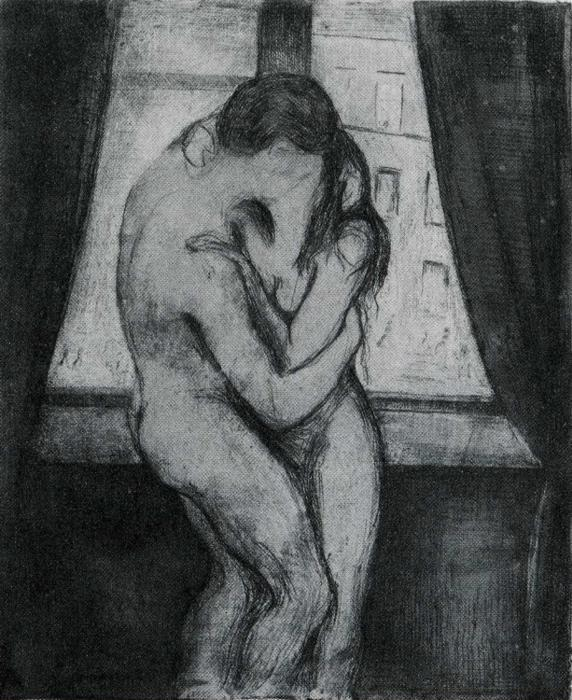 Edvard Munch. The Kiss.
