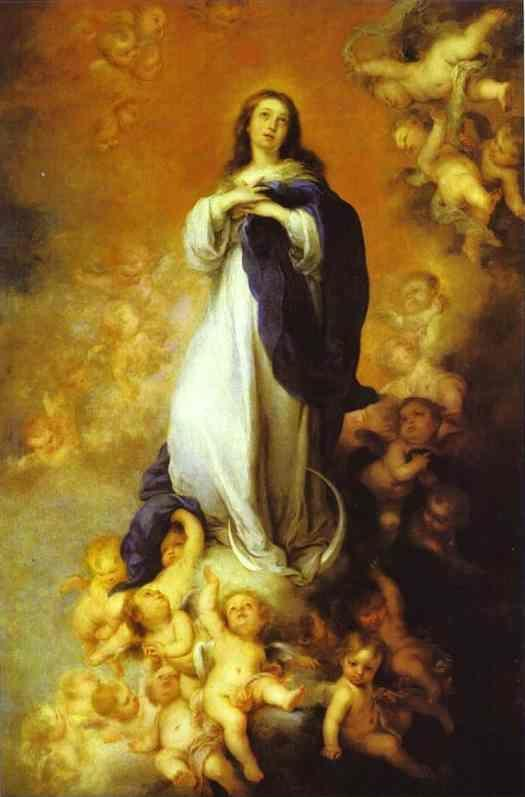 Bartolomé Esteban Murillo. Our  Lady of the Immaculate Conception.