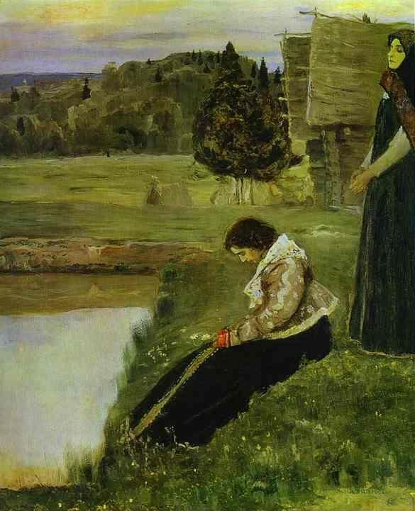 Mikhail Nesterov. Deep Thoughts.