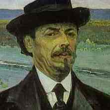 Mikhail Nesterov Portrait