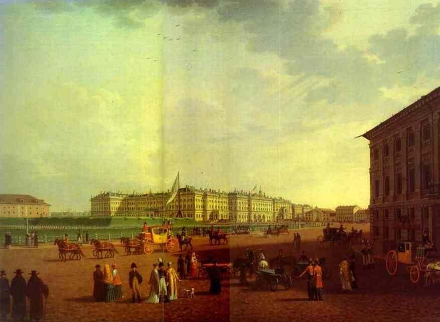 Benjamin Paterssen. The Palace Square.
